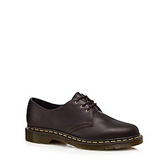 Dr Martens - Brown leather Derby shoes