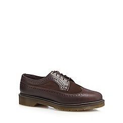 Dr Martens - Brown leather 'Charro' brogues