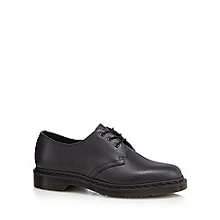 Dr Martens - Black leather Derby shoes