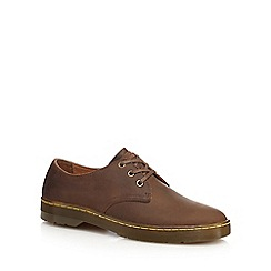 Dr Martens - Brown leather 'Coronado' Derby shoes