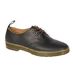 Dr Martens - Black leather 'Coronado' Derby shoes