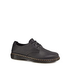 Dr Martens - Black leather 'Bexley' Derby shoes