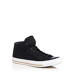 Converse - Black 'All Star Hight Street' high top trainers