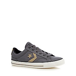 Converse - Grey 'Star Player' lace up shoes