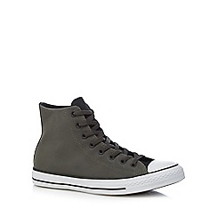 Converse - Khaki 'Chuck Taylor All Star' high top trainers