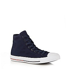 Converse - Navy 'All Star Shield' lace up shoes