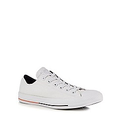 Converse - White 'All Star Shield' lace up shoes