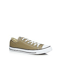 Converse - Olive 'All Star' lace up shoes