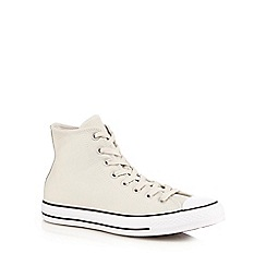 Converse - Light cream 'All Star' ankle boots