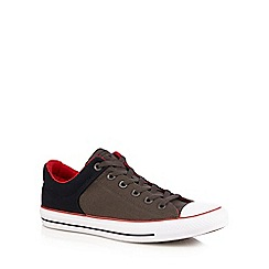 Converse - Dark khaki 'All Star High Street' lace up shoes