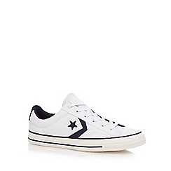 Converse - White 'Star Player' canvas shoes