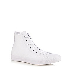 Converse - White 'All Star' ankle boots