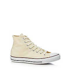 Converse - White 'Chuck Taylor All Star' lace-up shoes
