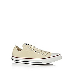 Converse - Cream 'Chuck Taylor All Star' lace up shoes