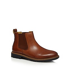 Steptronic - Tan 'Lord' Chelsea boots