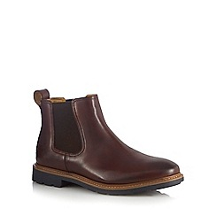 Steptronic - Dark brown 'Lord' Chelsea boots