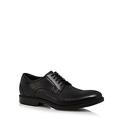 Rockport - Black leather 'City Smart' Derby shoes