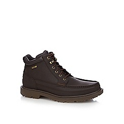 Rockport - Dark brown 'Redemption' boots