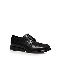 Rockport - Black leather 'Essential' brogues