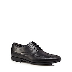 Rockport - Black leather 'Style Connected' brogues