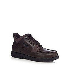 Rockport - Dark brown 'Treeline Hike Marangue' ankle boots