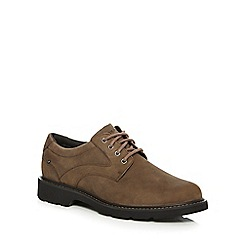 Rockport - Brown leather lace up shoes