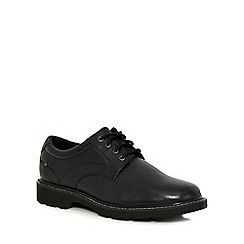 Rockport - Black leather lace up shoes