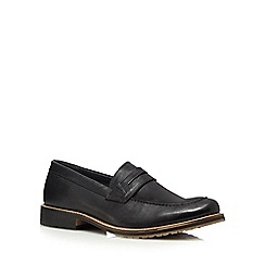 Lotus Since 1759 - Black 'Jensen' loafers
