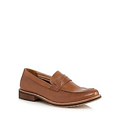 Lotus Since 1759 - Tan leather 'Jensen' loafers