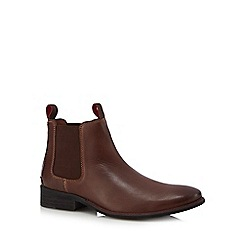 Lotus Since 1759 - Brown leather Chelsea boots