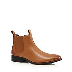 Lotus Since 1759 - Tan leather 'Jamison' Chelsea boots