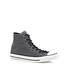 Converse - Grey 'All Star' high top trainers
