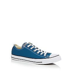 Converse - Turquoise 'All Star' low top trainers