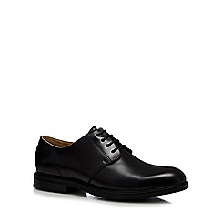 Steptronic - Black patent 'Gleneagles' Derby shoes
