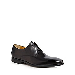 Steptronic - Black patent 'Hudson' Derby shoes