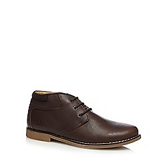 Chatham Marine - Dark brown 'Tor' shoe boots