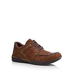 Chatham Marine - Brown leather 'Wilson' lace up shoes