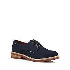 Jack & Jones - Navy suede lace up shoes