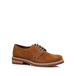 Jack & Jones - Tan suede lace up shoes