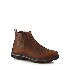 Skechers - Brown 'Segment Dorton' Chelsea boots