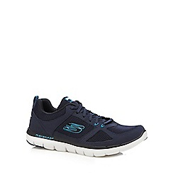 Skechers - Navy 'Flex Advantage' trainers