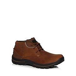 Skechers - Tan leather 'Horatio' chukka boots