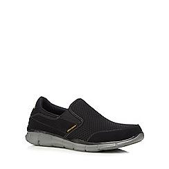 Skechers - Black 'Equalizer' slip-on trainers