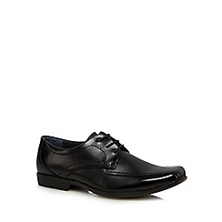 Hush Puppies - Black leather 'Easton Ralston IIV' lace up shoes