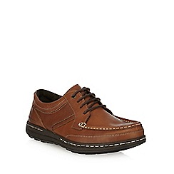 Hush Puppies - Brown 'Vines Victory' lace up shoes