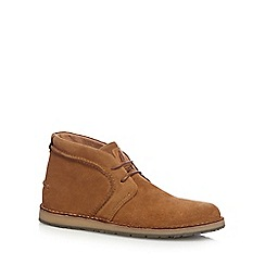 Hush Puppies - Tan 'Curtis' Chukka boots