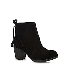 Hush Puppies - Black 'Beatrice' high ankle boots