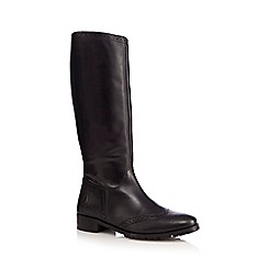 Hush Puppies - Black 'Emilia' riding boots