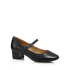 Hush Puppies - Black 'Nara Discover' low court shoes