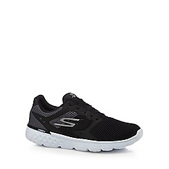 Skechers - Black '400' lace up trainers